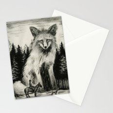 Fox Hunter Stationery Cards