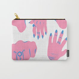 trans hands Carry-All Pouch