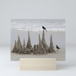 Sand Castle Mini Art Print