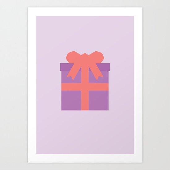 #49 Present Art Print