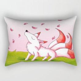 Sakura Winds Rectangular Pillow