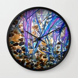 Nature Remixed Wall Clock