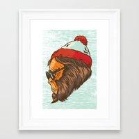 waldo Framed Art Prints featuring Waldo Sasquatch  by Thomcat23