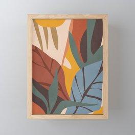 Abstract Art Jungle Framed Mini Art Print