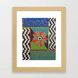 The Power of a Flower Framed Art Print