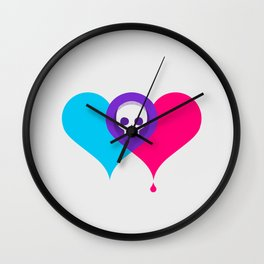 A Death-Marked Love Wall Clock