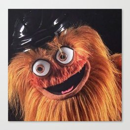 """Flyers New Mascot """"Gritty"""" Canvas Print"""
