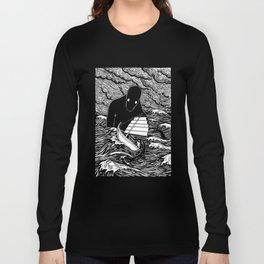 Umibōzu 海坊主 Long Sleeve T-shirt