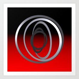 wind chime -1- Art Print