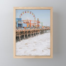 santa monica iii Framed Mini Art Print