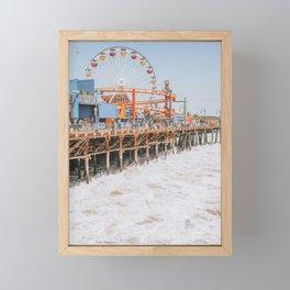 santa monica iii / california Framed Mini Art Print