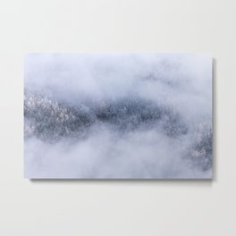 Beneath The Fog Metal Print