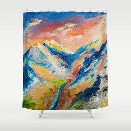 HIMALAYAN LANDSCAPE Shower Curtain