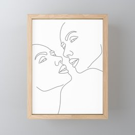 Desire Framed Mini Art Print
