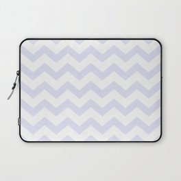 CHEVRON (LAVENDER & WHITE) Laptop Sleeve