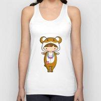hamster Tank Tops featuring Kigurumi Hamster by Joanna Zhou