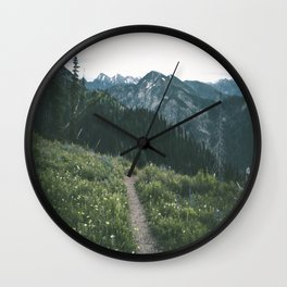 Happy Trails III Wall Clock