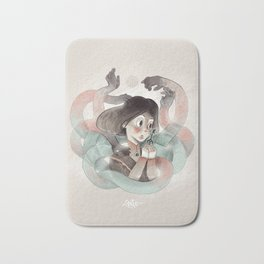 Ghost key Bath Mat