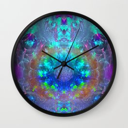 Extraterrestrial Palace 3 Wall Clock