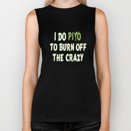 I do PiYo to burn off the CRAZY Biker Tank