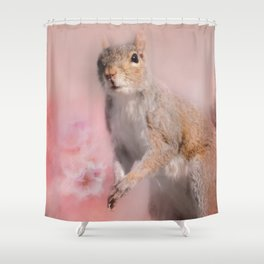 Time For Spring Planting Shower Curtain