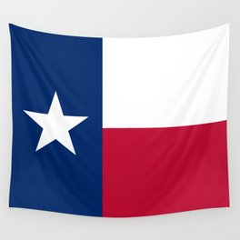 Texas state flag, High Quality Authentic Version Wall Tapestry