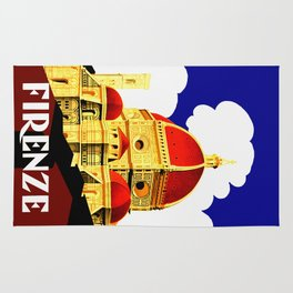 Firenze - Florence Italy Travel Rug