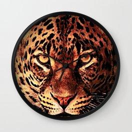 gepard #gepard #cats #animals Wall Clock