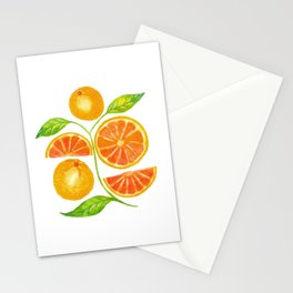 Juicy Grapefruits Stationery Cards