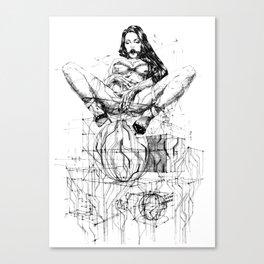 Passion & Tension Canvas Print