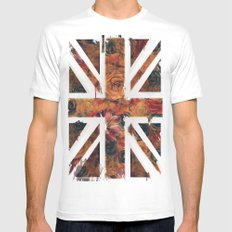 F/UNION White MEDIUM Mens Fitted Tee
