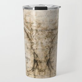 Skulled Oddity Travel Mug