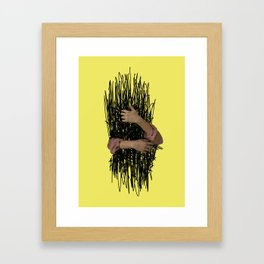 embrace chaos Framed Art Print