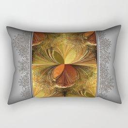 Fall Colours Abstract Rectangular Pillow