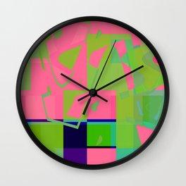 she went big Wall Clock