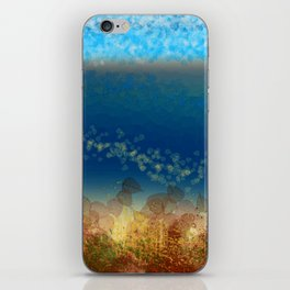 Abstract Seascape 01 w iPhone Skin