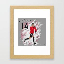 Jesse Lingard - Manchester United Framed Art Print