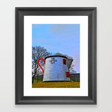 The Coffee Pot Framed Art Print