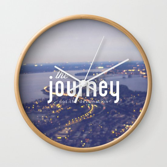 The Journey Wall Clock