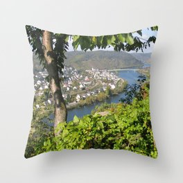 Burg Eltz Germany Throw Pillow