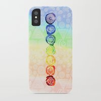 om iPhone & iPod Cases featuring OM by Sara Eshak