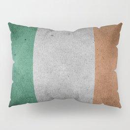 Irish Flag Grunge Pillow Sham