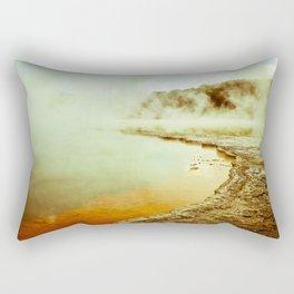 Steamy Geothermals Rectangular Pillow