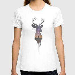 Deer Head V T-shirt