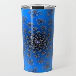 Chasing Snowflakes - Fractal Art Travel Mug