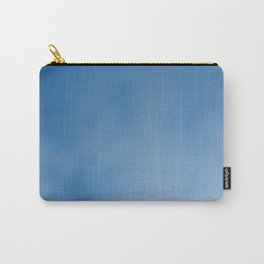 Snorkel blue ombre gradient with bokeh texture Carry-All Pouch