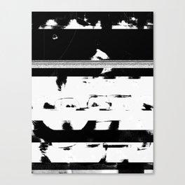 Glitch Please Canvas Print