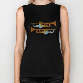 Trumpets Biker Tank
