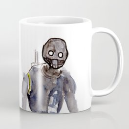 K2SO Watercolor Painting Coffee Mug