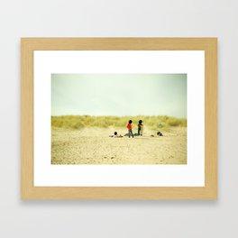 Unknowns 6 Framed Art Print